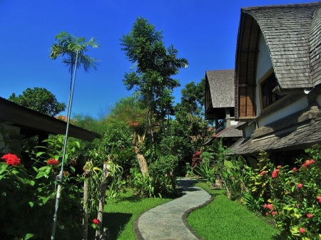 The beauty of Hotel Vila Lumbung